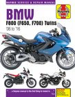 BMW F800 + F650, F700 Twins (06 - 17) Haynes Manual